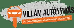 Villám autónyitás Logo